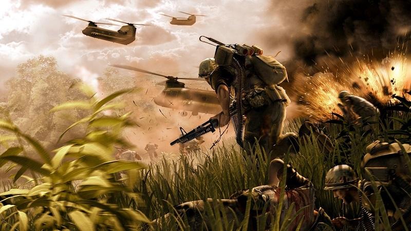 Battlefield Vietnam được phát hành năm 2004 tại nhiều nơi trên thế giới