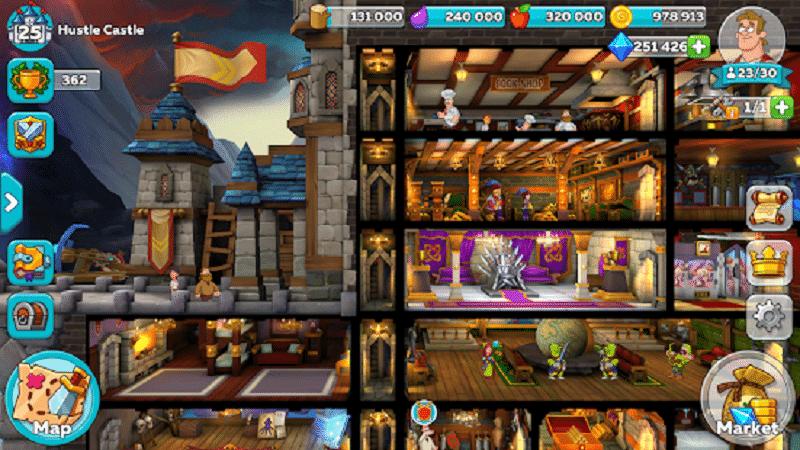 Game thủ ngoại tuyến hoặc tham gia vào cuộc chiến với những con quỷ hấp dẫn