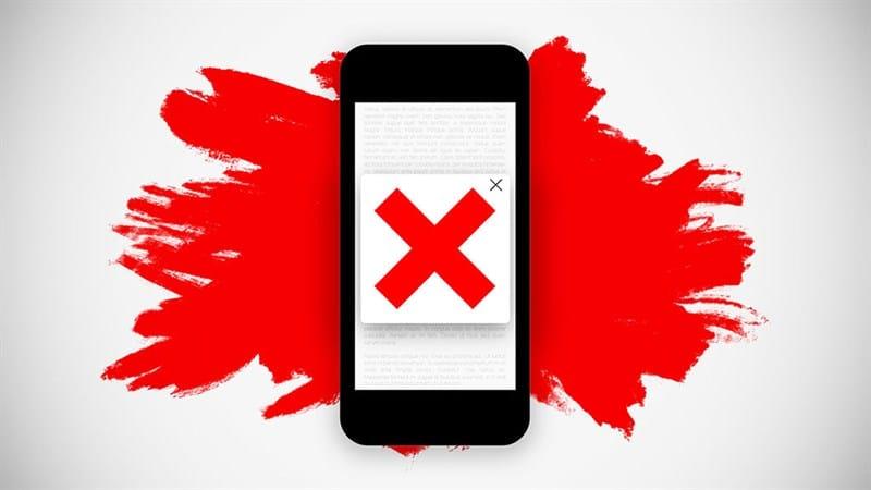 Quảng cáo tự bật lên khiến cho người dùng khó chịu