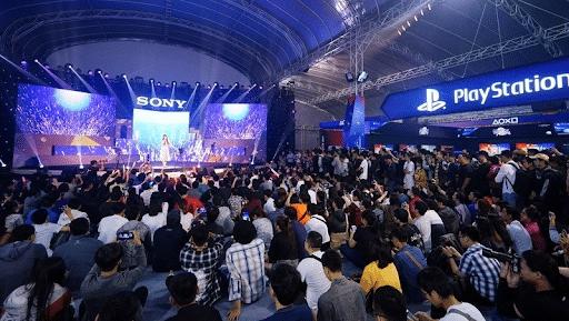 các giải đấu Game playstation tại kì Sony Show