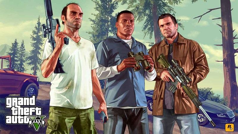 Game offline Grand Theft Auto V