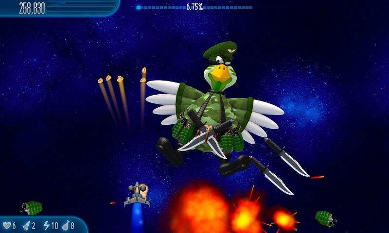 Game offline hay cho pc – Chicken Invaders 5
