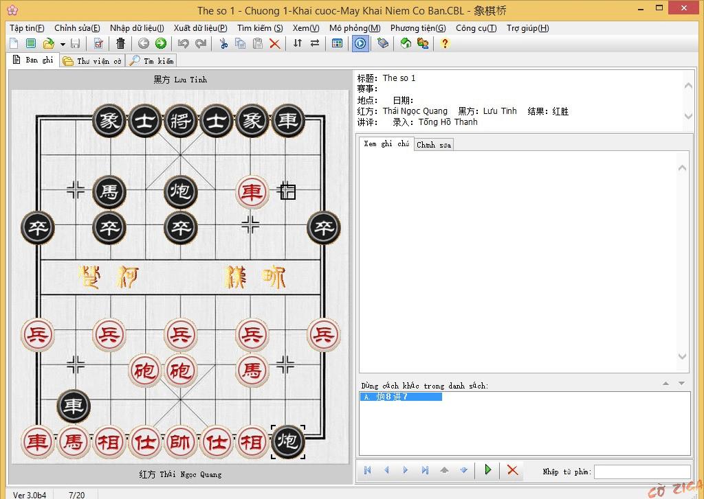 phần mềm cờ tướng mạnh nhất thế giới CCBridge