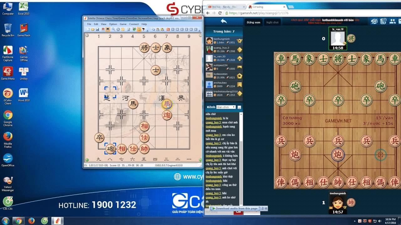 phần mềm cờ tướng mạnh nhất thế giới Intella