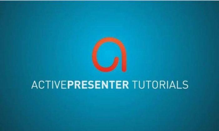 Phần mềm quay màn hình máy tính chất lượng cao ActivePresenter