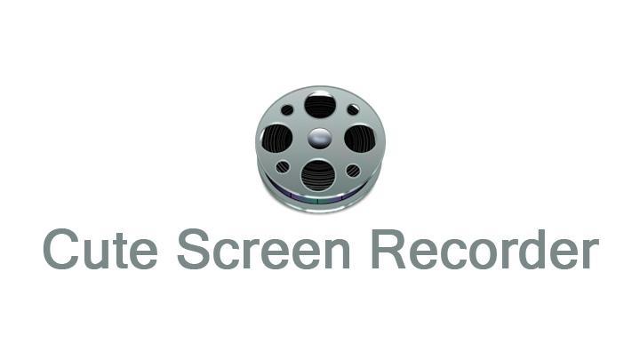 Phần mềm quay màn hình máy tính Cute Screen Recorder Free