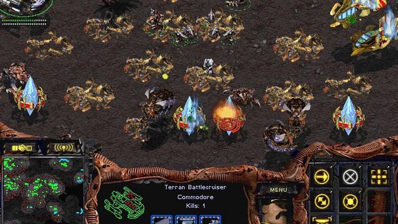 Starcraft được ra mắt từ những năm 1998 và liên tục thịnh hành cho đến nay