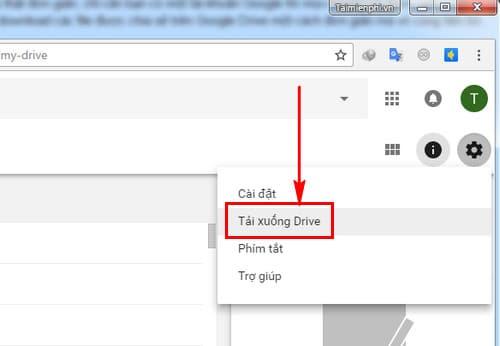 Cách tải file từ Google Drive về máy tính trên website trực tuyến
