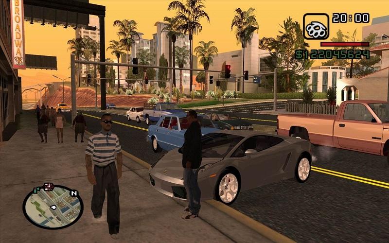 Trải nghiệm đầy đủ các tính năng trong game nhập vai Grand Theft Auto: San Andreas