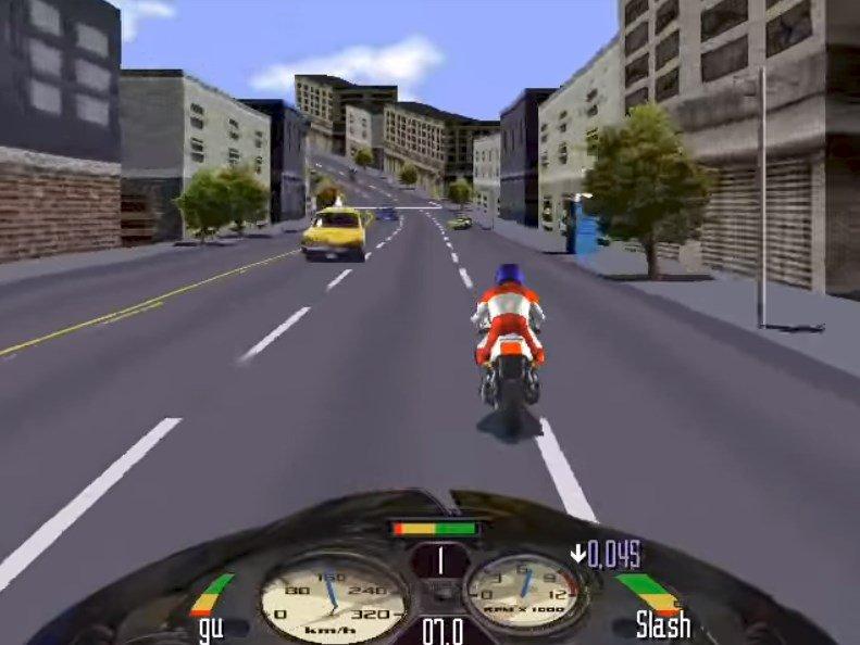 Trải nghiệm đua xe đường phố với game Road Rash
