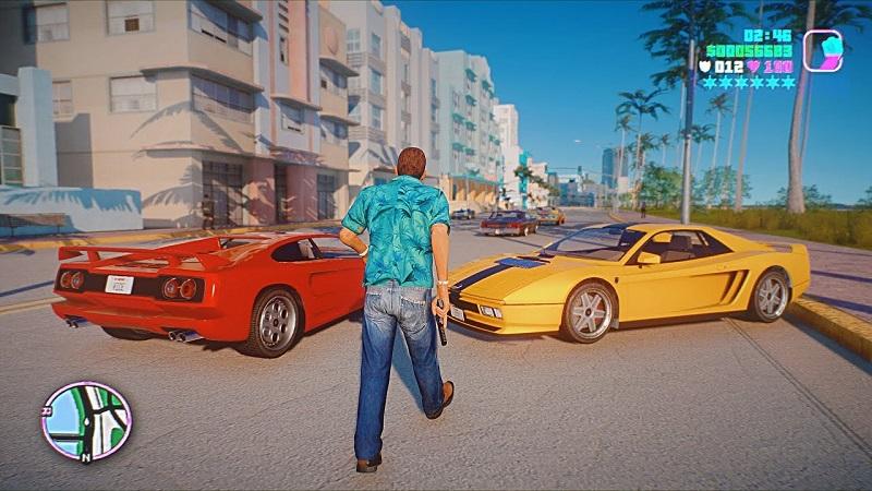 Vice city là một trò chơi ngoại tuyến với đồ họa 3D thu hút người chơi các trò chơi ngoại tuyến cũ hay