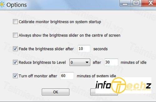 Adjust Laptop Brightness