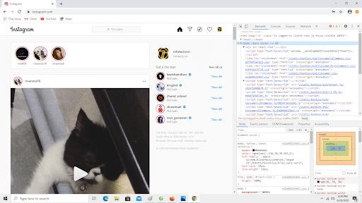 Cách đăng hình lên Instagram bằng máy tính qua Chrome