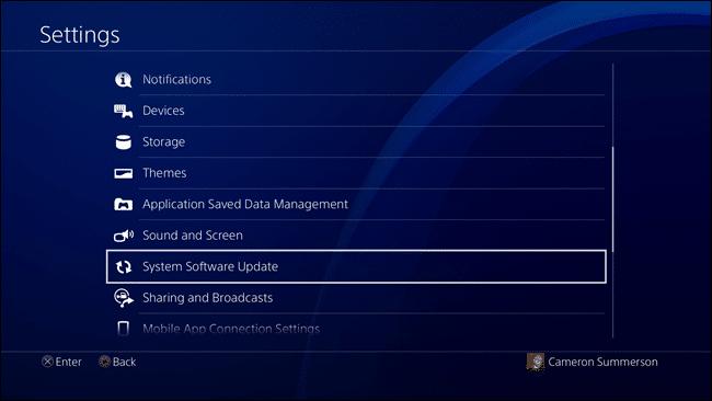 Cách cập nhật hệ thống phần mềm Game ps4