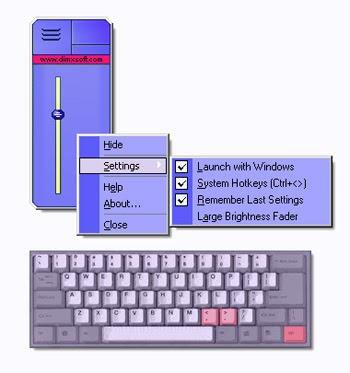 Destop Lighter là phần mềm phổ biến để tùy chỉnh độ sáng màn hình