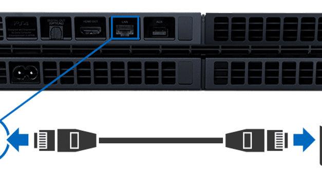 Kết nối đường truyền Ethernet với PS4