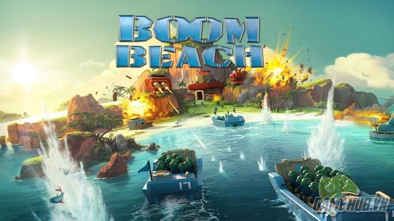 Bối cảnh trong Boom Beach đặt tại một quần đảo nhiệt đới