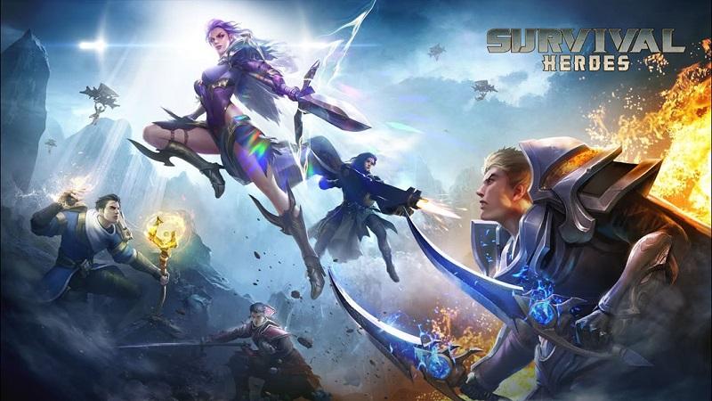 Survival Heroes được kết hợp giữa 2 thể loại game mobile