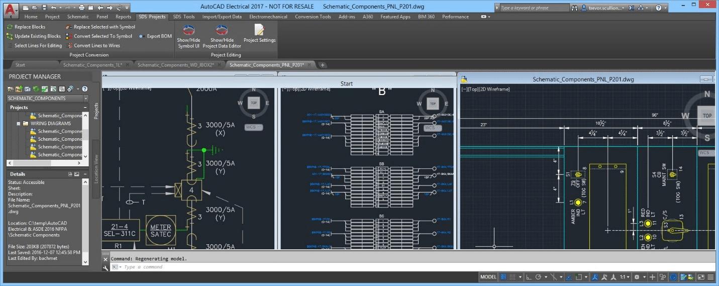 Phần mềm vẽ mạch điện công nghiệp AutoCAD Electrical