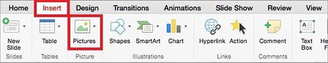 Cách chèn GIF trong PowerPoint cho Mac