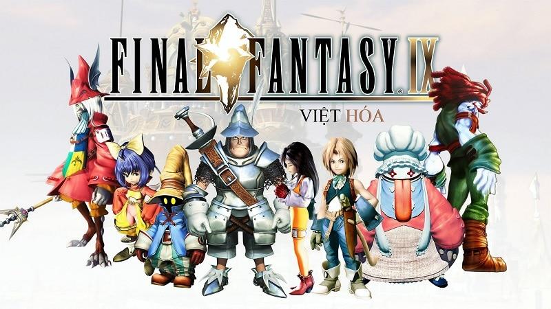 Game nhập vai Anime Final Fantasy IX