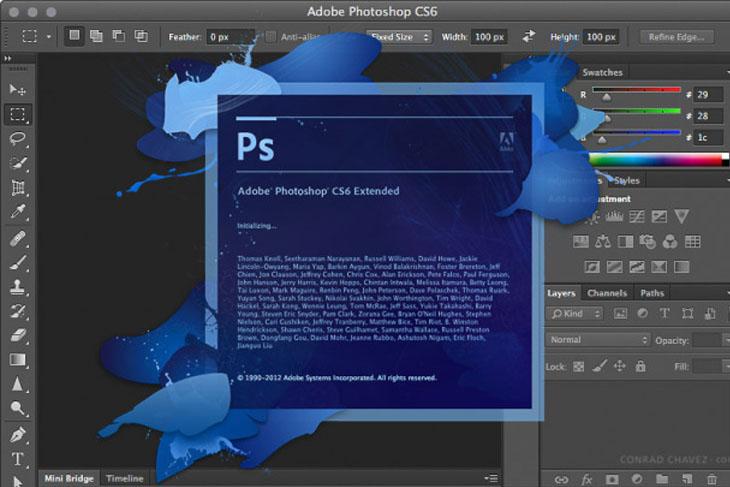 Adobe Photoshop - Phần mềm chèn chữ vào ảnh trên máy tính