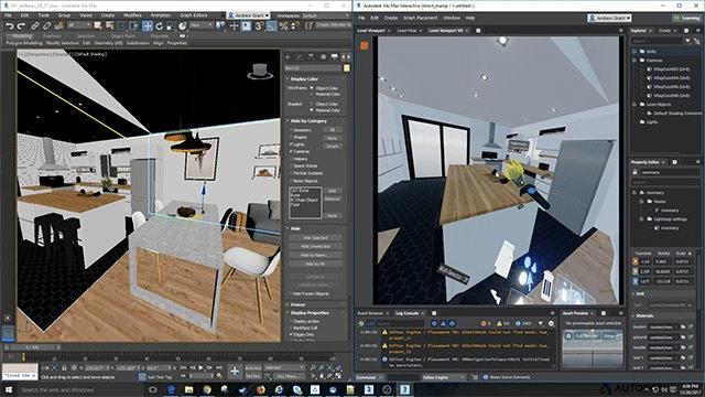 Autodesk 3Ds Max tạo mô hình 3D