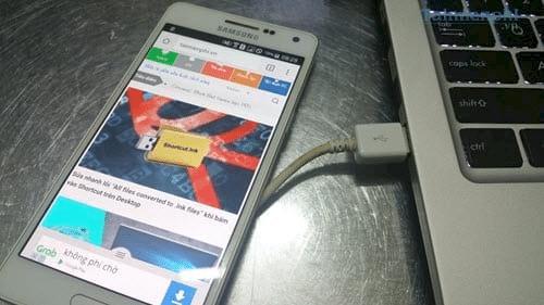 Cách bật nguồn điện thoại bằng máy tính