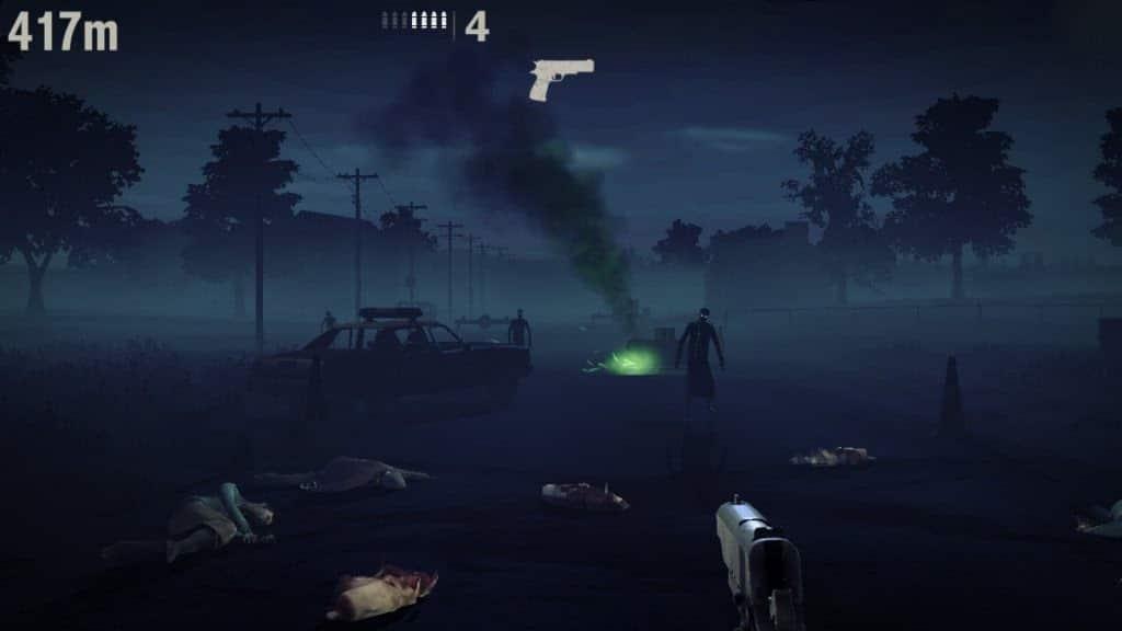 Chế độ chơi trong into the dead 2