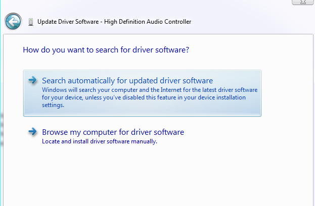 Duyệt máy tính (Browse my computer for driver software)