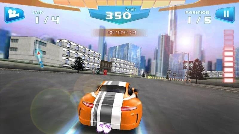 Fast Racing 3D là game mô phỏng lái xe ô tô cực xịn xò
