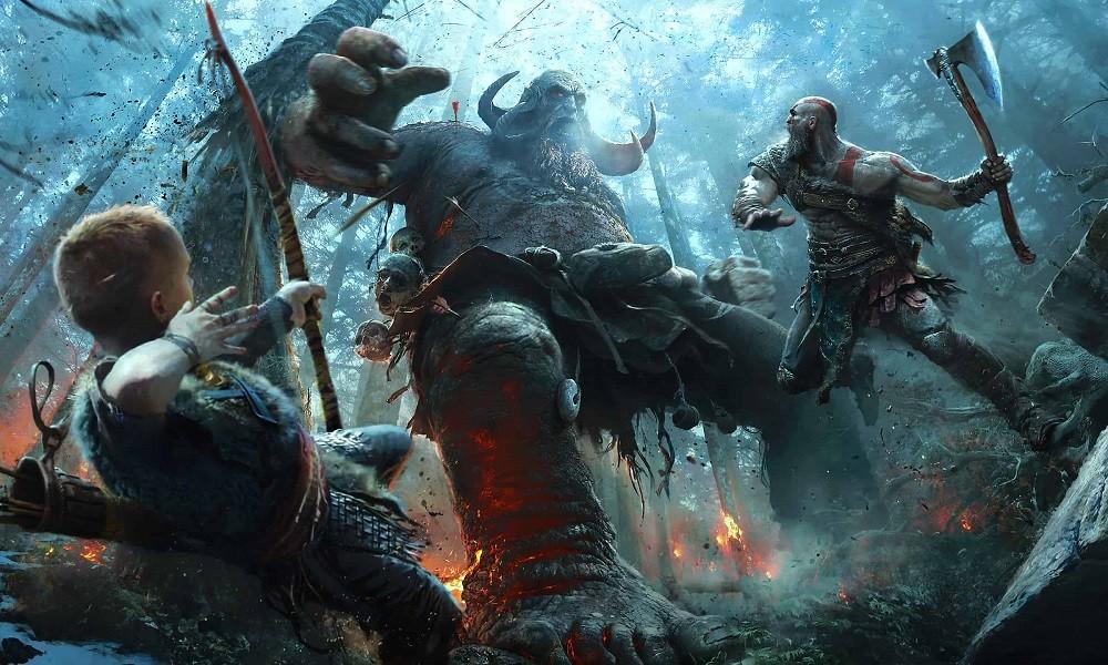 God of war 4 đồ họa nhân vật đỉnh cao