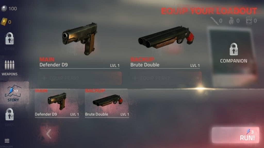 kho vũ khí đồ sộ trong into the dead 2