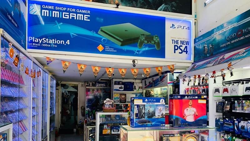 Mimi Game là cửa hàng cung cấp đĩa game Playstation lâu đời