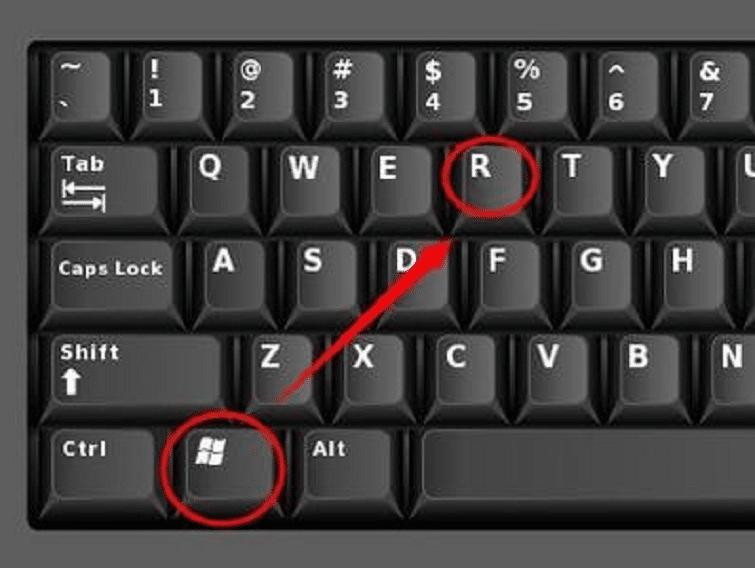 Chọn Start -> Run (Windows + R) để mở hộp thoại Run.
