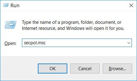 Nhấn tổ hợp phím Windows + R để mở hộp lệnh Run