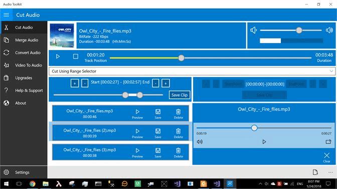 Phần mềm cắt ghép nhạc chuyên nghiệp Audio Toolkit