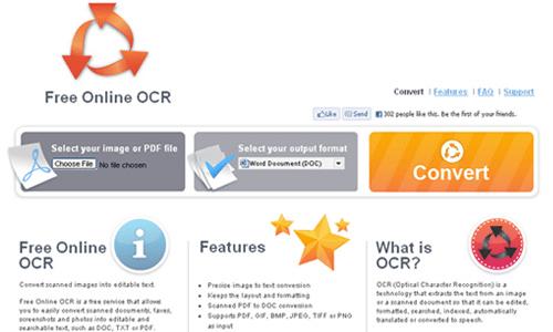 Phần mềm chuyển pdf sang word không lỗi font Free Online OCR