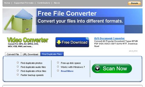 Phần mềm chuyển pdf sang word không lỗi font Freefileconvert