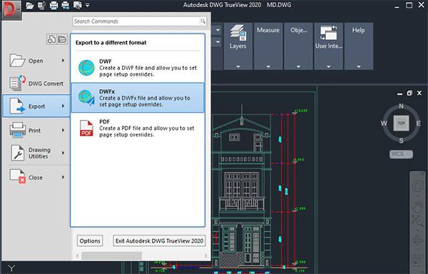 Phần mềm đọc file dwg DWG TrueView