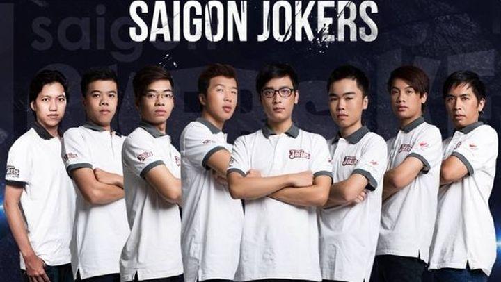 Saigon Joker đã nhận kết quả cay đắng 0 - 7 tại giải đấu Wildcard
