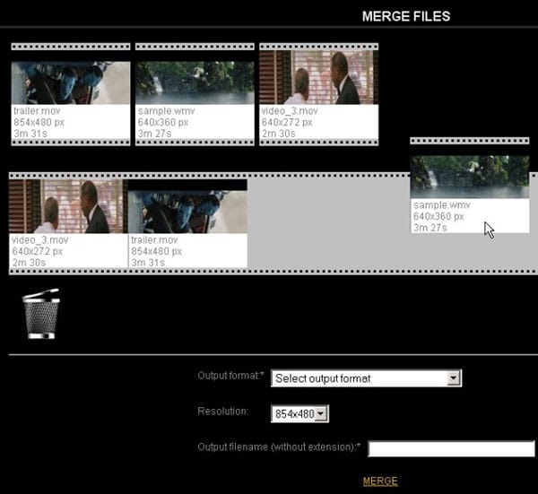 Sử dụng công cụ videotoolbox.com để ghép 2 video thành 1 online