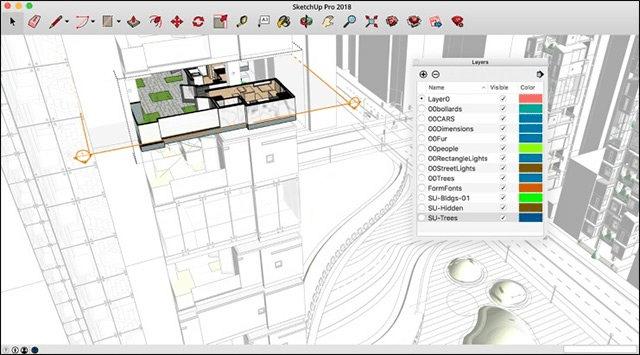 Thiết kế nhà trên Sketchup