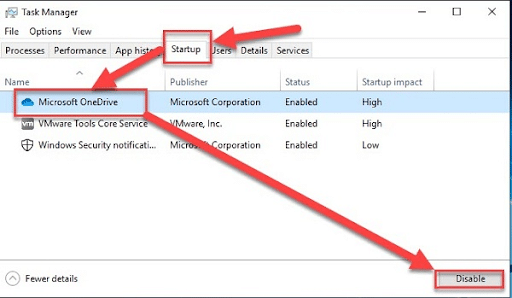 Tối ưu hóa win 10 bằng cách tắt các chương trình khởi động cùng Windows 10b