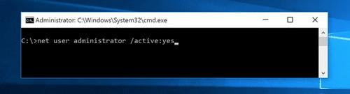Trong giao diện quản trị Command Prompt, nhập hoặc sao chép và dán lệnh