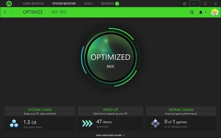 Cách sử dụng Razer Game Booster để tăng tốc máy tính khi chơi game