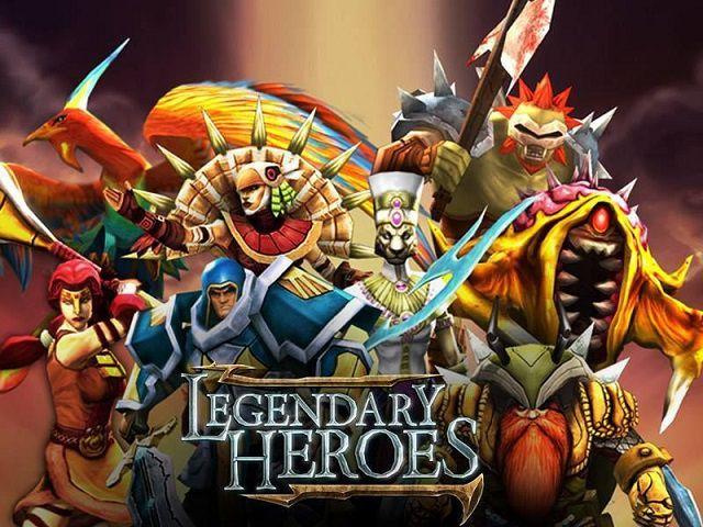 Cuộc chiến Legendary Heroes đòi hỏi người chơi phải sử dụng 12 kỹ năng