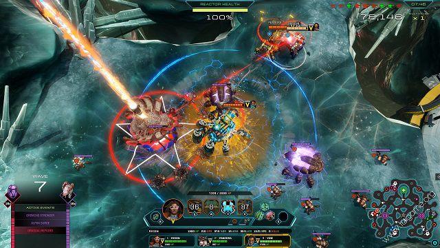 Dropzone kết hợp giữa game Moba và chiến thuật