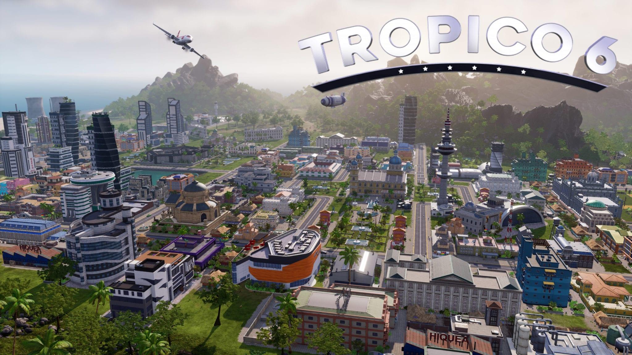 Game mô phỏng xây dựng thành phố pc -Tropico