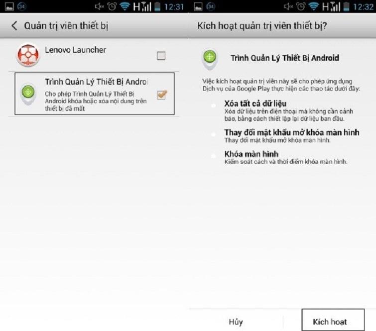 Hướng dẫn cách sử dụng trình quản lý thiết bị Android trên điện thoại